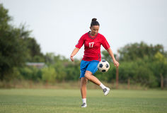 Female soccer Royalty Free Stock Images