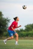 Female soccer Stock Image