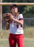 Female Softball Player Stock Images