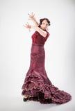 Female spanish flamenco dancer Stock Photos