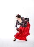 Female spanish flamenco dancer Stock Image
