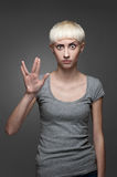 Female Spock Royalty Free Stock Photo
