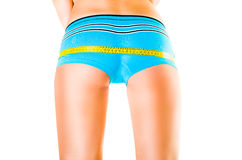 Female  sporting buttocks Royalty Free Stock Image