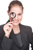 Female spy Royalty Free Stock Images