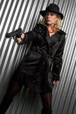 Female Spy Stock Photography