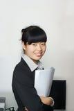 Female staff Royalty Free Stock Image