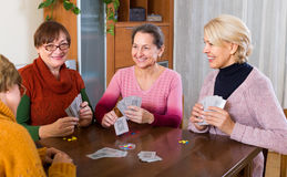 Female staking money during bridge Stock Photography
