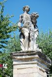 Female statue in Asolo, Italy Stock Images