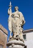 Female Statue in Treviso Stock Photos