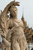 Female staute, Bang Pa-In Royal Palace, Ayutthaya, Thailand. Female statue in the gardens of the Bang Pa-In Royal Palace in Ayutthaya, Thailand - also known as Stock Image