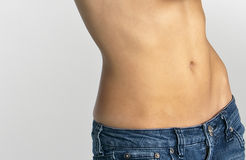 Female Stomach Royalty Free Stock Photos