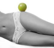 Female stomach and hip Royalty Free Stock Photography