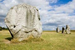 Female stone, inner circle, Avebury Stock Image