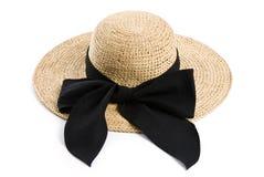 Female Straw Hat Royalty Free Stock Photos