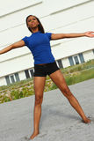Female Stretching Royalty Free Stock Image