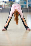 Female stretching Stock Photos