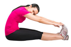 Female Stretching Exercise Royalty Free Stock Photography