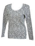 Female striped clothes Royalty Free Stock Photos