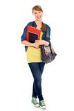 Female student stock image