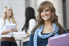 Female Student royalty free stock photo
