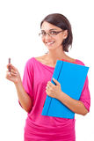 Female student Royalty Free Stock Photos