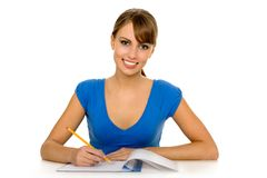 Female student Stock Photography
