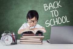 Female Student Back to School Stock Image