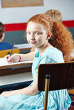 Female student in elementary school Stock Photos