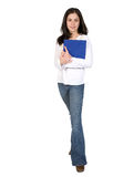 Female student - full body Royalty Free Stock Photography