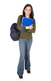 Female student - full body Royalty Free Stock Image