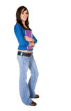 Female student - full body Stock Photography