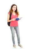 Female student full body Royalty Free Stock Image