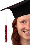 Female Student Graduating Royalty Free Stock Photography