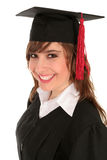 Female student graduating Royalty Free Stock Photo