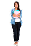 Female student isolated Stock Photos