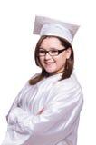 Female student isolated Royalty Free Stock Photo