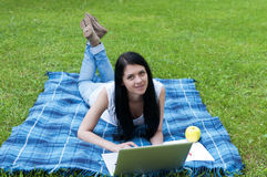 Female Student Royalty Free Stock Photography