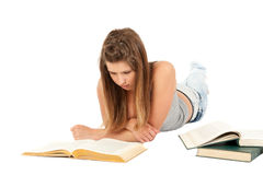 Female student portrait Royalty Free Stock Images