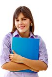 Female student portrait Stock Photo