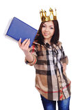 Student queen Stock Photography