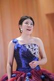 Female student singing italian opera Royalty Free Stock Photos
