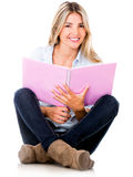 Female student smiling Royalty Free Stock Image