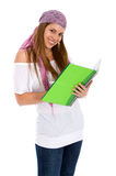 Female student smiling Stock Photography