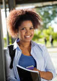 Female Student Smiling On University Campus Royalty Free Stock Image