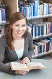 Female student studying Royalty Free Stock Photo