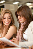 Female students Stock Images