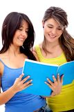 Female students Stock Photography