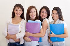Female students Royalty Free Stock Image