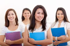 Female students Stock Photos