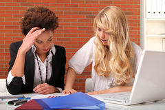 Female students stock image